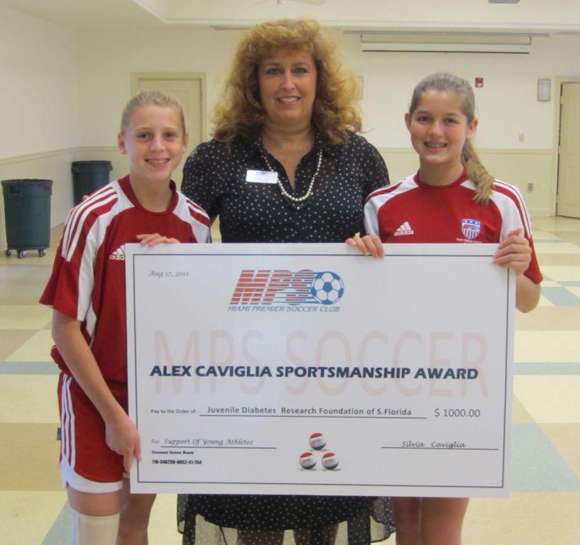 Alex Caviglia Award - 2011