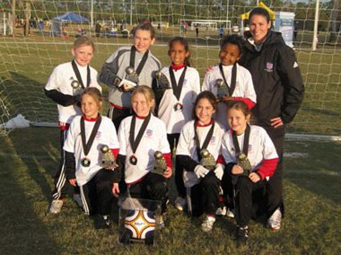 Naples Soccer Skills Unlimited U10 Champions 2010